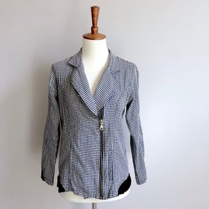 Anthropologie Jackets & Coats - Checkered Jacket